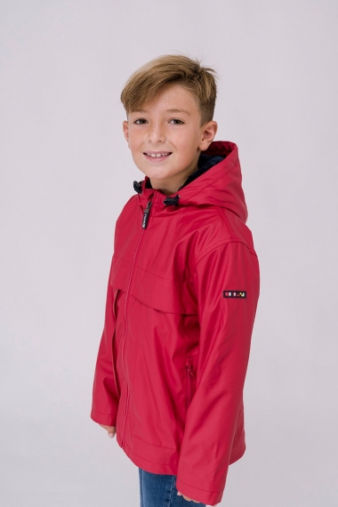 C3129 Raincoat with shearling