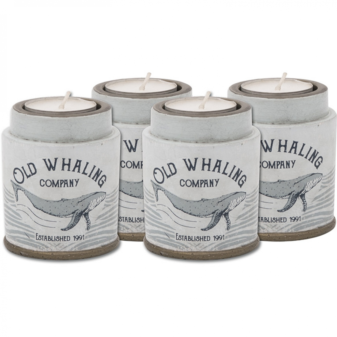 Bougeoir «Old Whaling Co.» (Set 4)