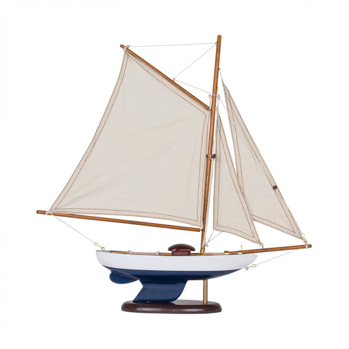 Sailing Boat in White