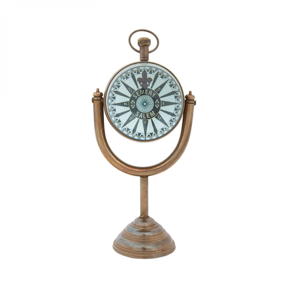 Clock With Moon Stand