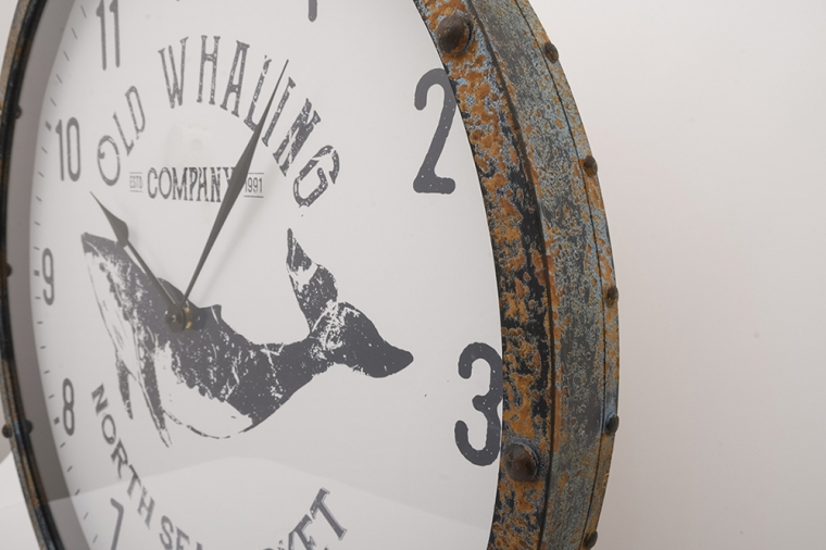 'Old Whaling Co.' clock