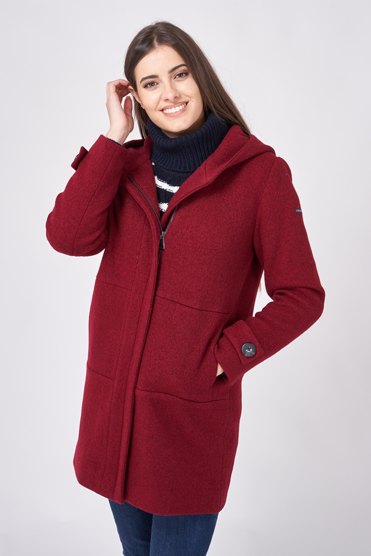A2297 Boiled wool jacket