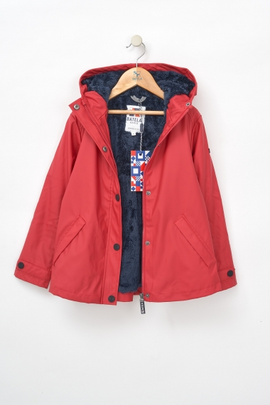 C3124 Raincoat with shearling