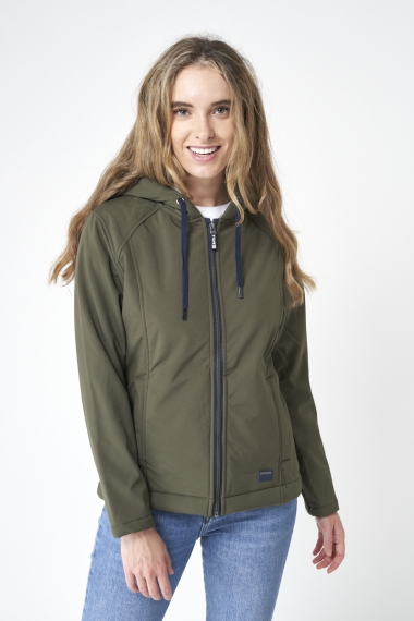 A2087 Softshell with shearling