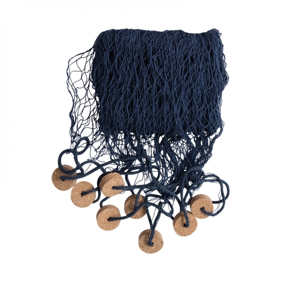 Fishing net with corks