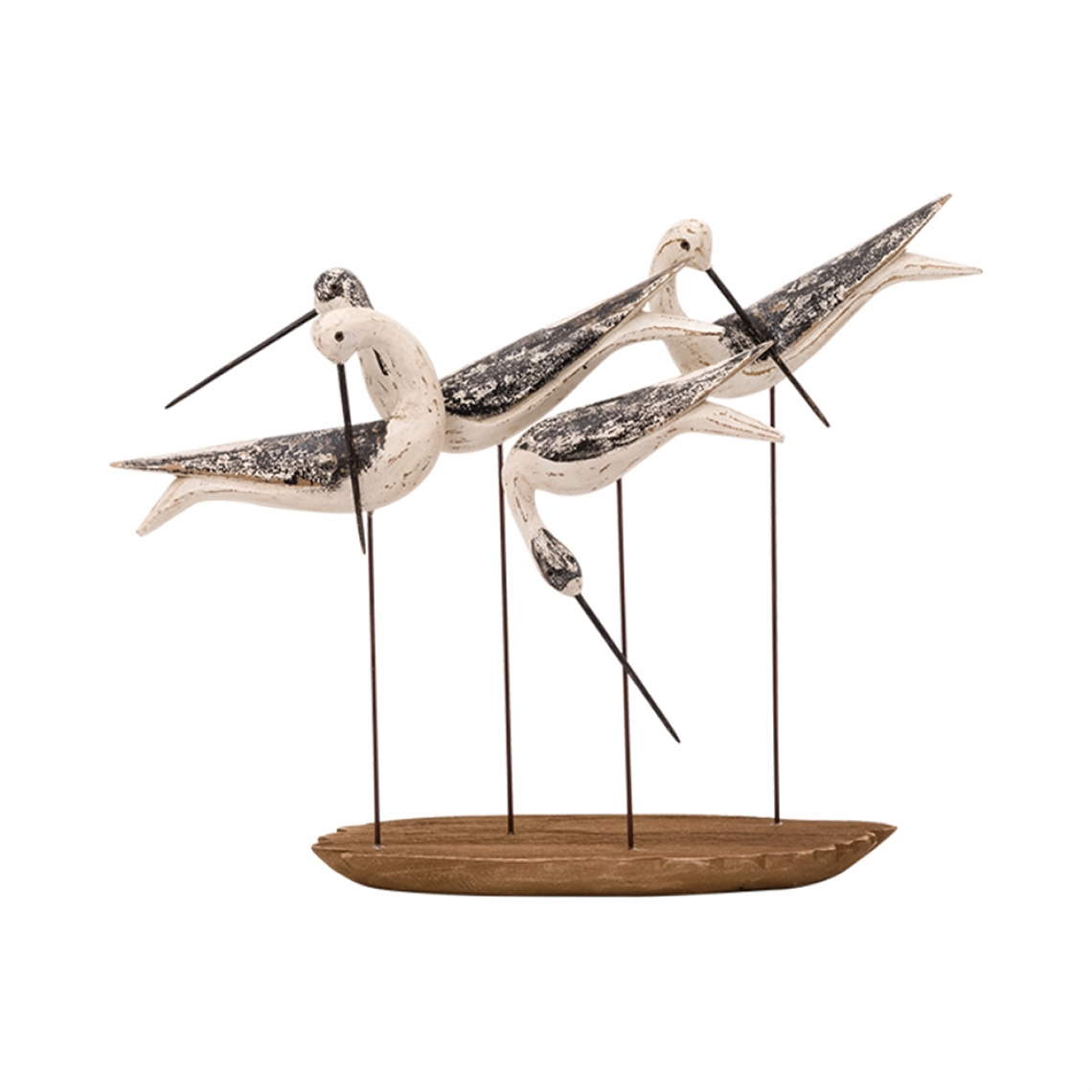 4 birds with base