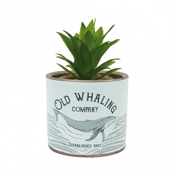 Cement can 'Old Whaling Co.'