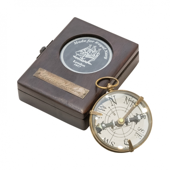 Compass with box
