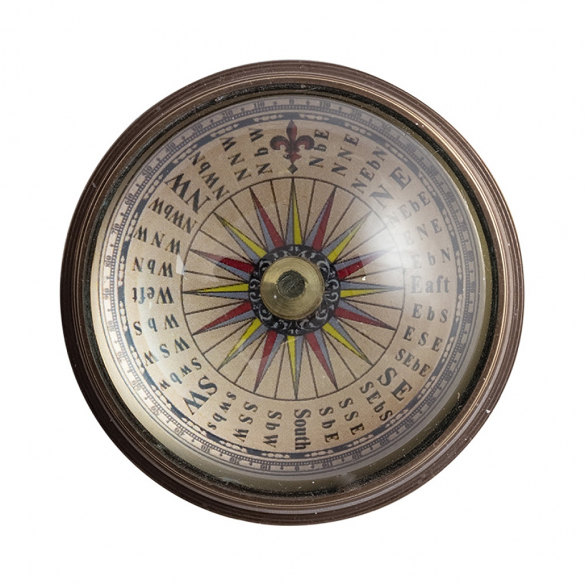 Compass with Magnifying Glass